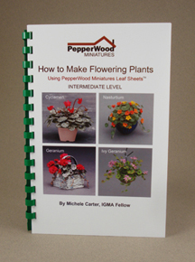 How to make flowering plants book