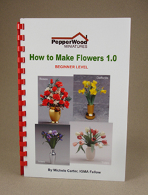 How to make flowers book