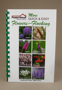 More quick and easy flowers from flocking book